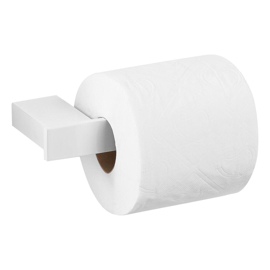 Porta Papel Higiênico Master Branco Dupla Fixação