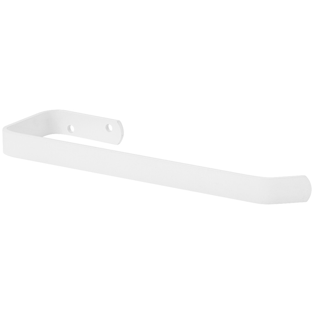 Porta Toalha De Rosto Para Banheiro Branco Plus