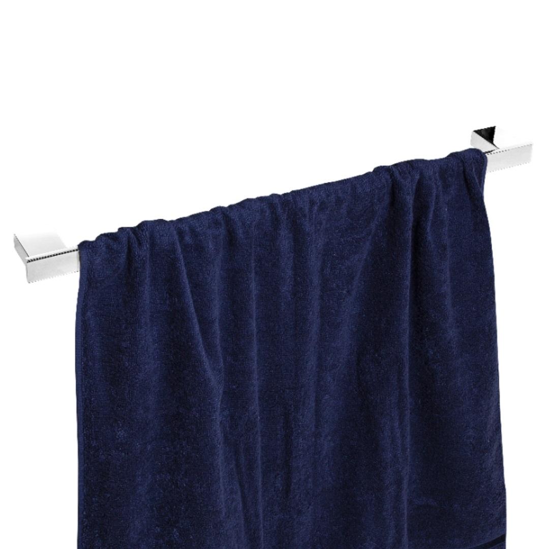 Porta Toalhas Para Banho Master Cromado 60cm