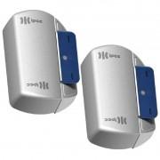Kit 2 Fechaduras Eletroimã Trava Magnética Bonna 150 kg para Portas