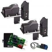 Kit 2 Travas Eco Lock para motor JetFlex PPA abertura simultânea