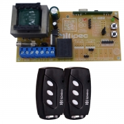 Kit Placa Central X1 Light Ipec com 2 Controles