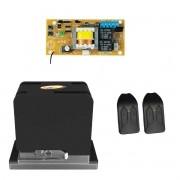 Motor Portão Deslizante Cube 550 1/3 PPA com 2 Controles
