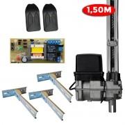 Motor Portão BV Home 300 PPA 1,50m 3 Fixadores