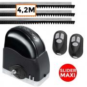 Motor Portão Deslizante Slider Maxi 450Kg RCG 4,2 Metros de Trilhos