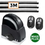 Motor Portão Deslizante Slider Maxi Plus 600Kg RCG 3 Metros de Trilhos