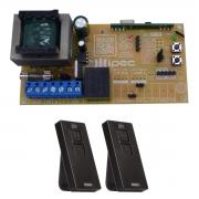 Placa Central X1 Universal Básica Comando Motor 2 Controles Pix
