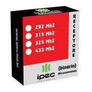 Receptor controle remoto binário 292 315 325 433 MHz portão alarme