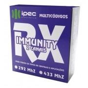 Receptor de Controle Remoto Rx Immunity 2 Canais portão alarme