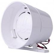 Sirene 1 Som 120 Db 24v Para Alarmes Cercas Elétricas