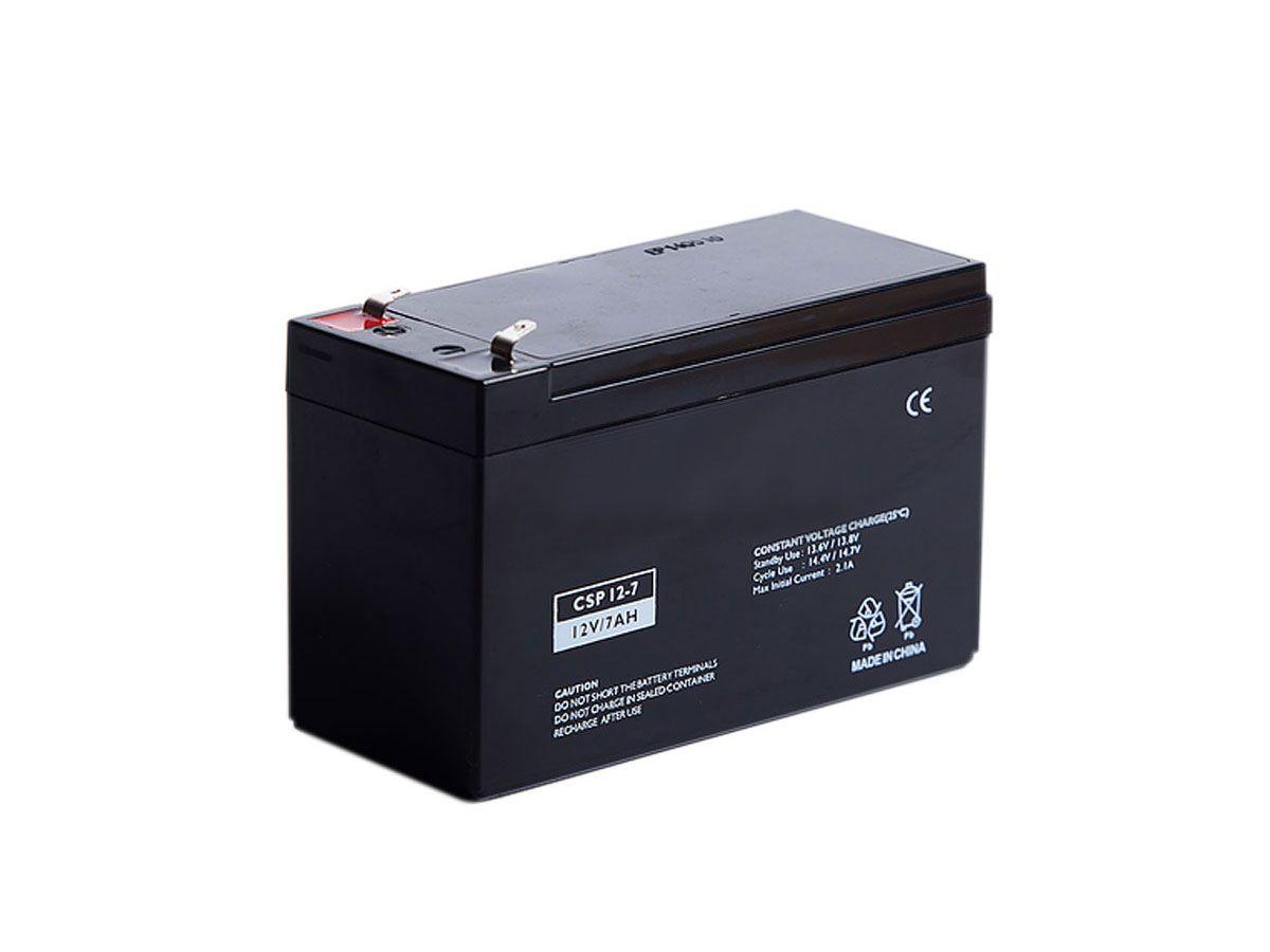 Bateria 12v 7a Cftv Eletrônico Alarme Cerca Backup Fechadura