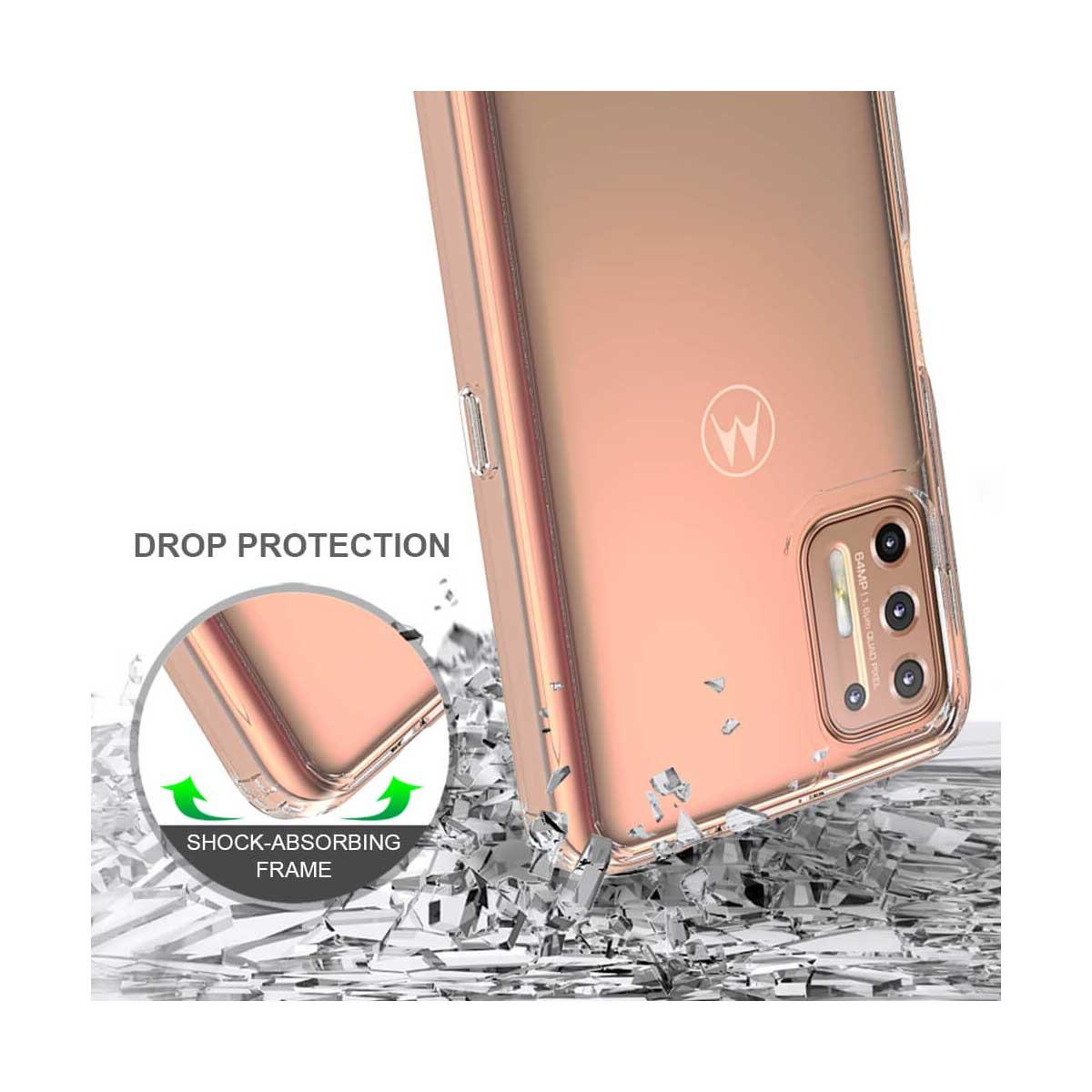 Capa Capinha para Motorola Moto G9 Plus Cristal
