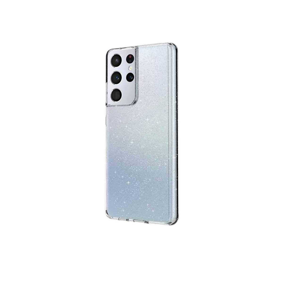 Capa Capinha Galaxy S21 Ultra Lifepro Tinsel Transparente