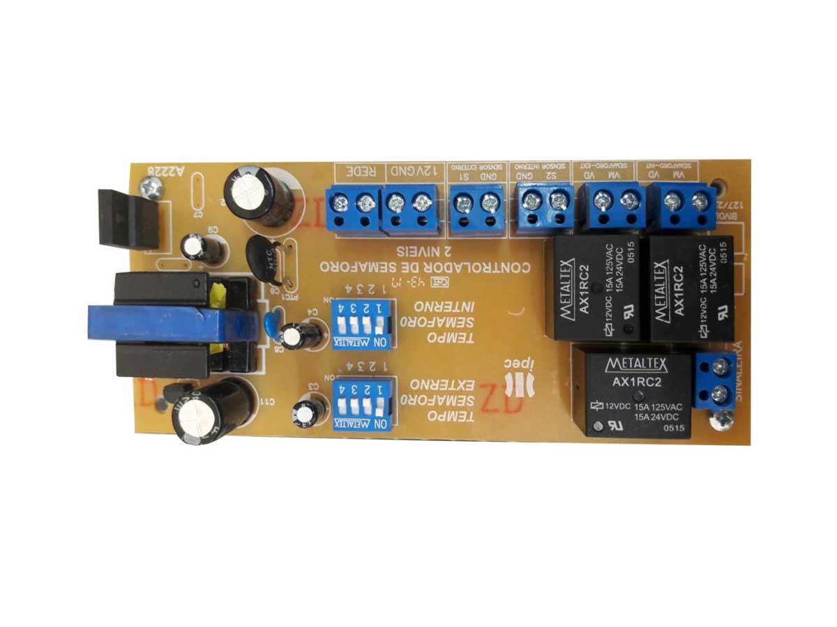Controlador para Semáforo 12V Pare E Siga Condomínio