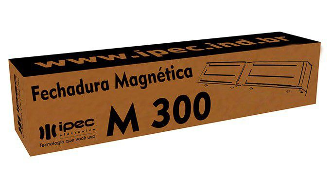 Fechadura Trava Magnética Imã 300 Kg Porta Pivotante