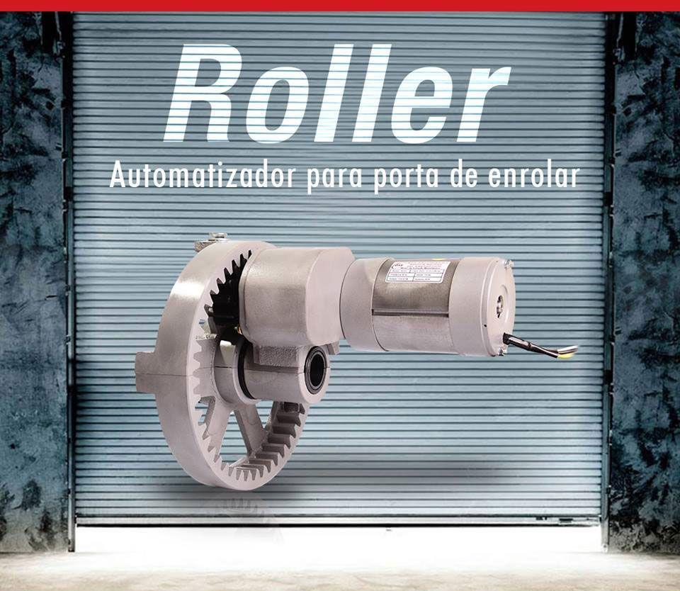 Kit Motor Porta de Enrolar de até 16 m² Roller Comércio Loja Shopping