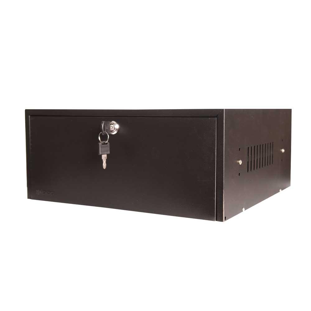 "Mini Rack A170 Organizador Horizontal Com Bandeja 15"""