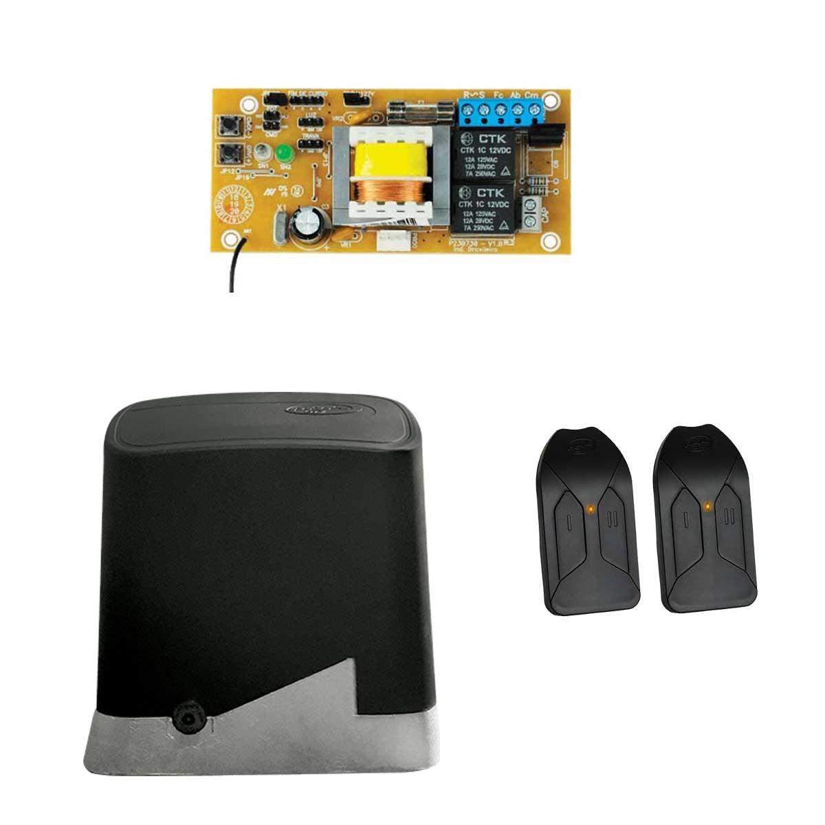 Motor Portão Deslizante Home 300 1/4 PPA com 2 Controles