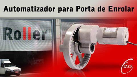 Motor para Porta de Enrolar de até 16 m² Roller Comércio Loja Shopping