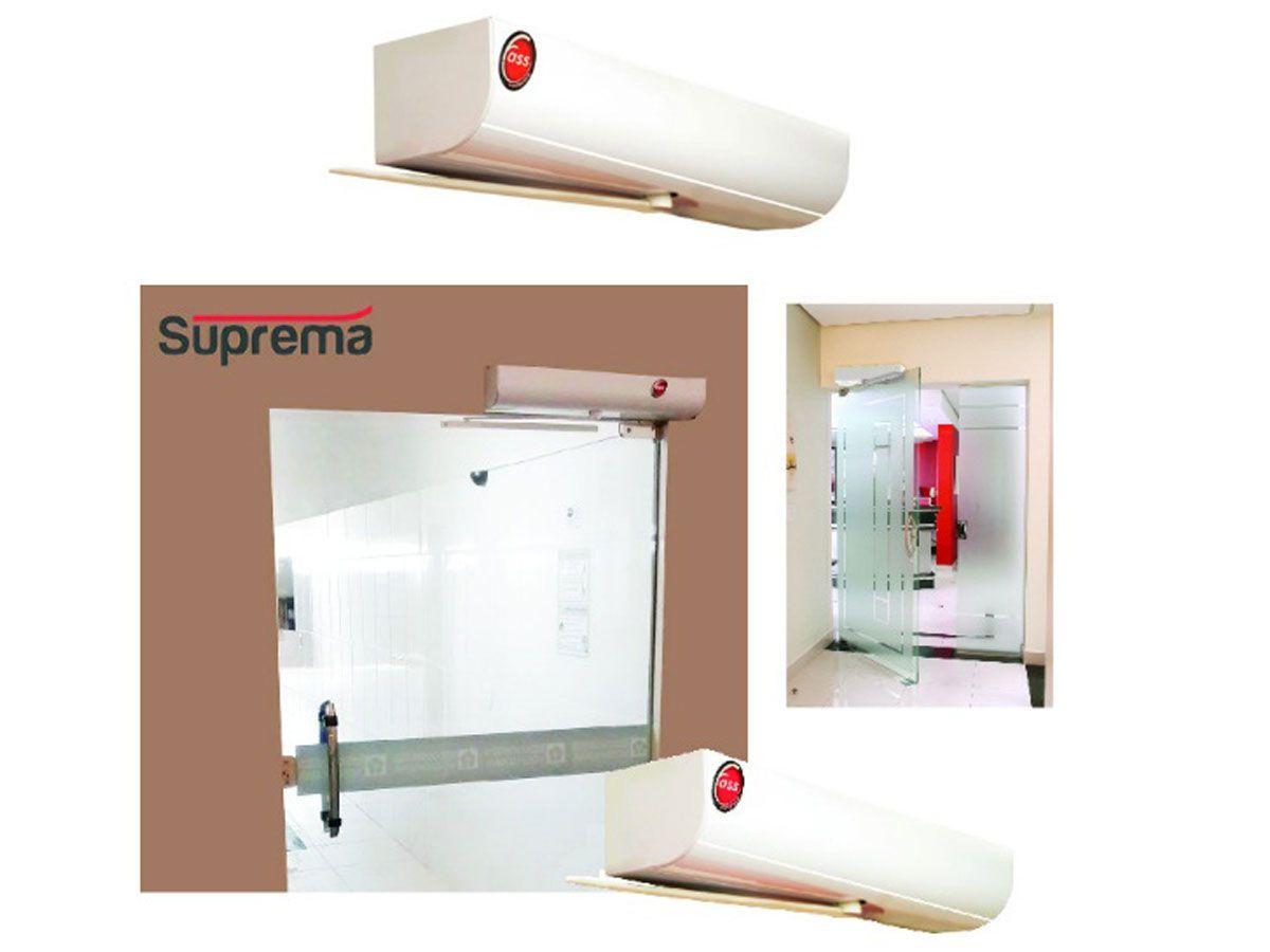 Motor Porta Social Pivotante Automática 220V Suprema Sensor Presença