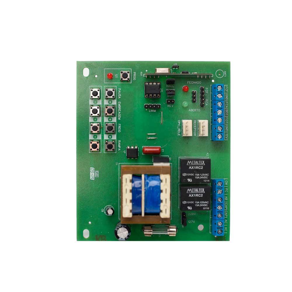 Placa X4 Central Rossi Dz3 Dz4 Nano Sensor Hall Motor Portão