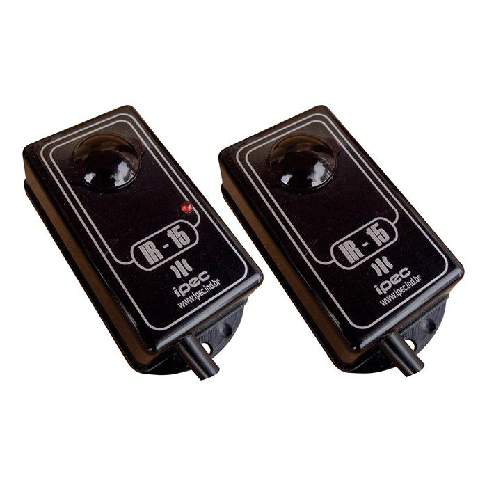 Sensor Barreira 30 M Ir 15 Antiesmagamento Com Led Sinalizador