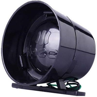 Sirene 3 Sons 120 Db 12V Para Alarmes Cercas Elétricas