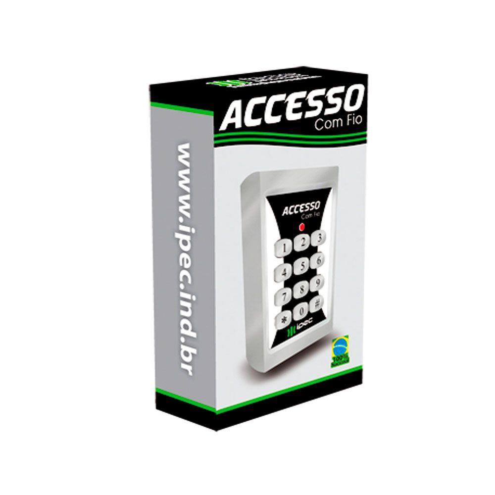 Teclado De Silicone Accesso Com Fio Ipec