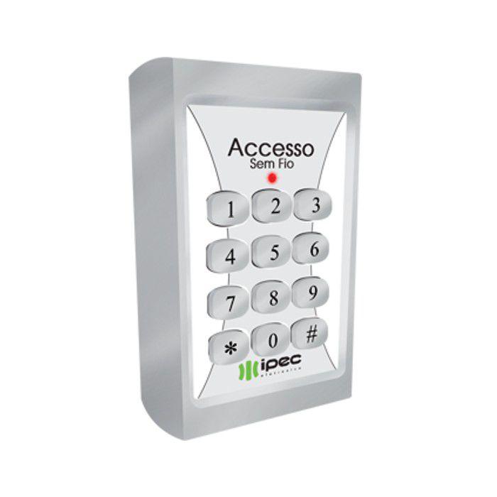 Teclado De Silicone Accesso Sem Fio Ipec