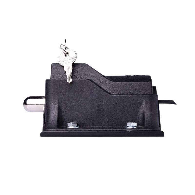 Trava Fechadura Eco Lock Motor Portão automático e Suporte regulável