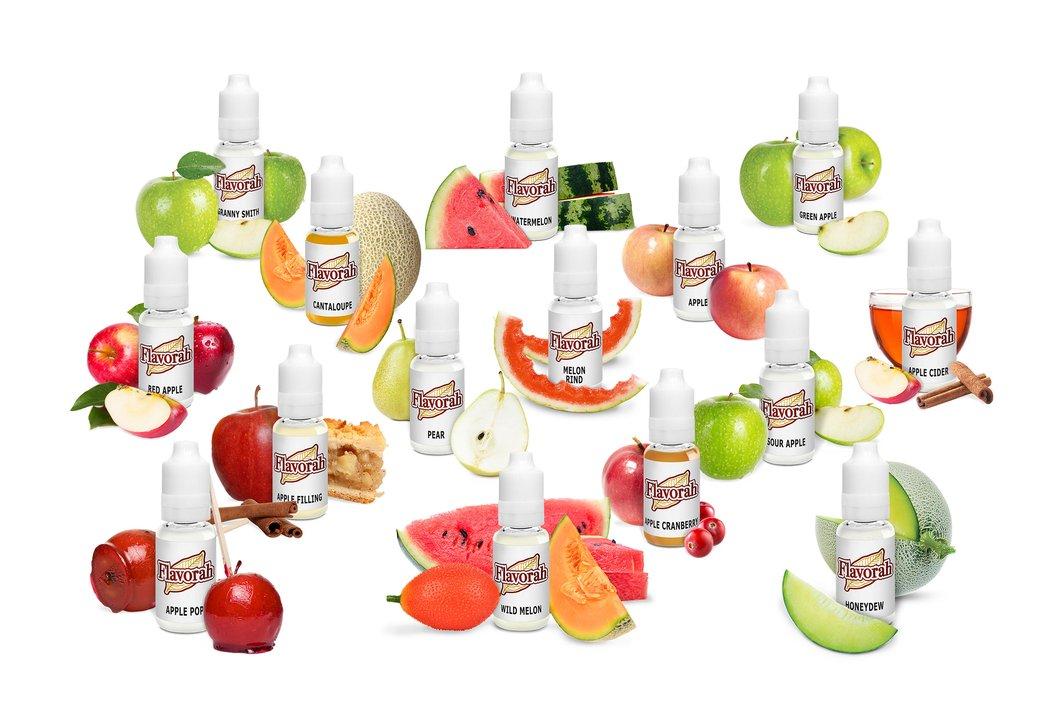 Flavorah Assortment Kit - Apple and Melon Flavors
