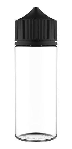 Frasco Chubby 120ml (5 unidades) - Clear/Black
