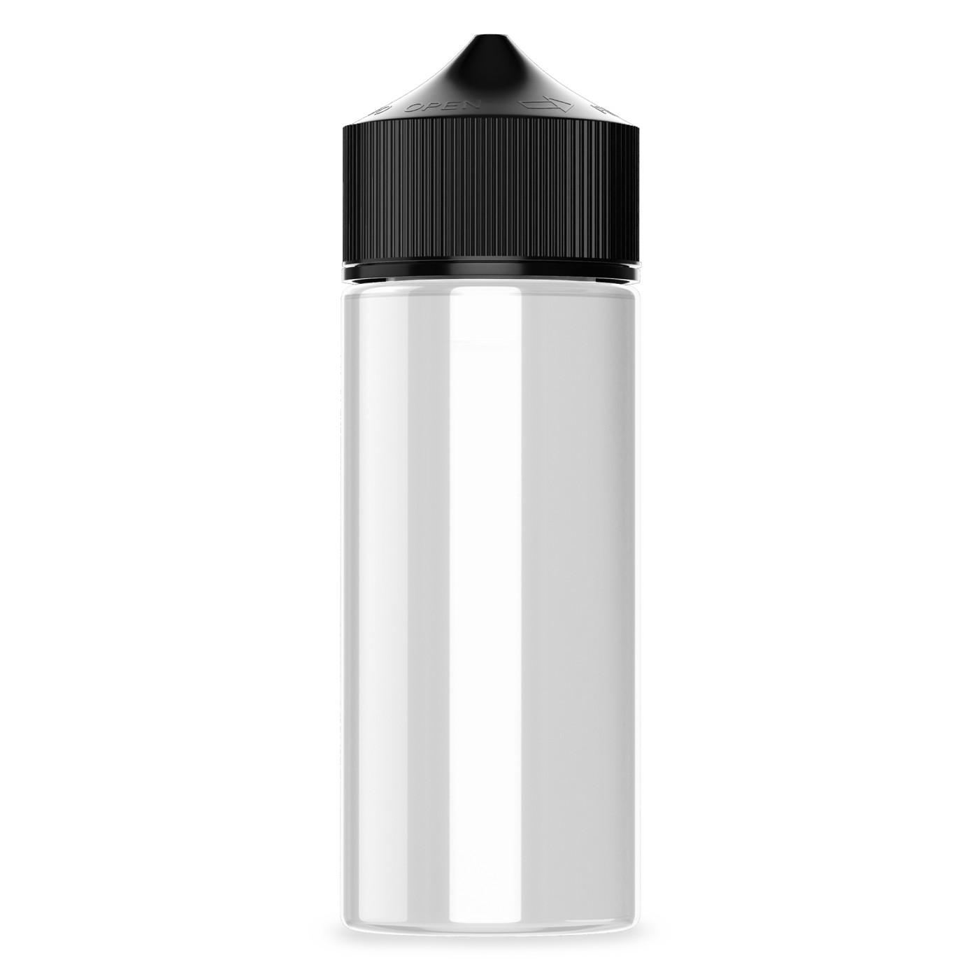 Frasco Chubby 120ml (Clear/Black)