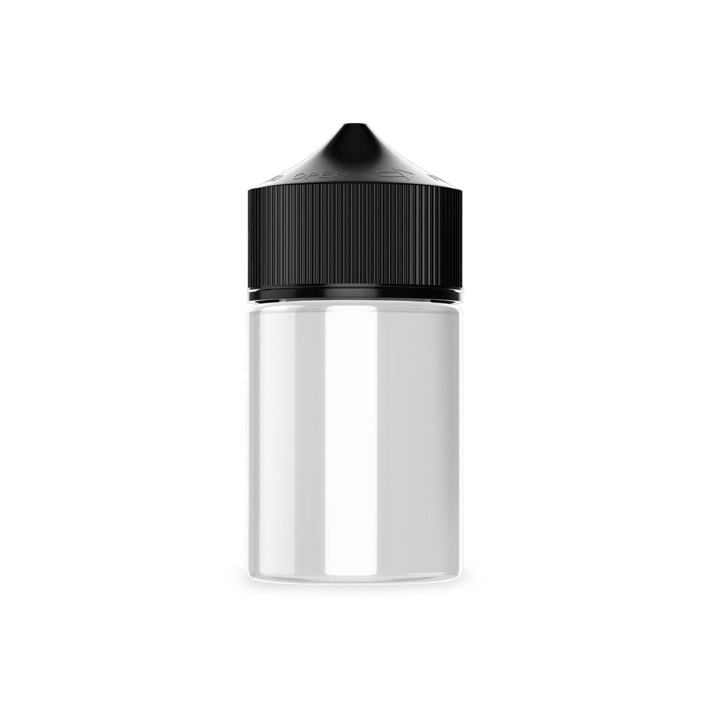 Frasco Chubby 60ml Fat (Clear/Black)  - VM Labs