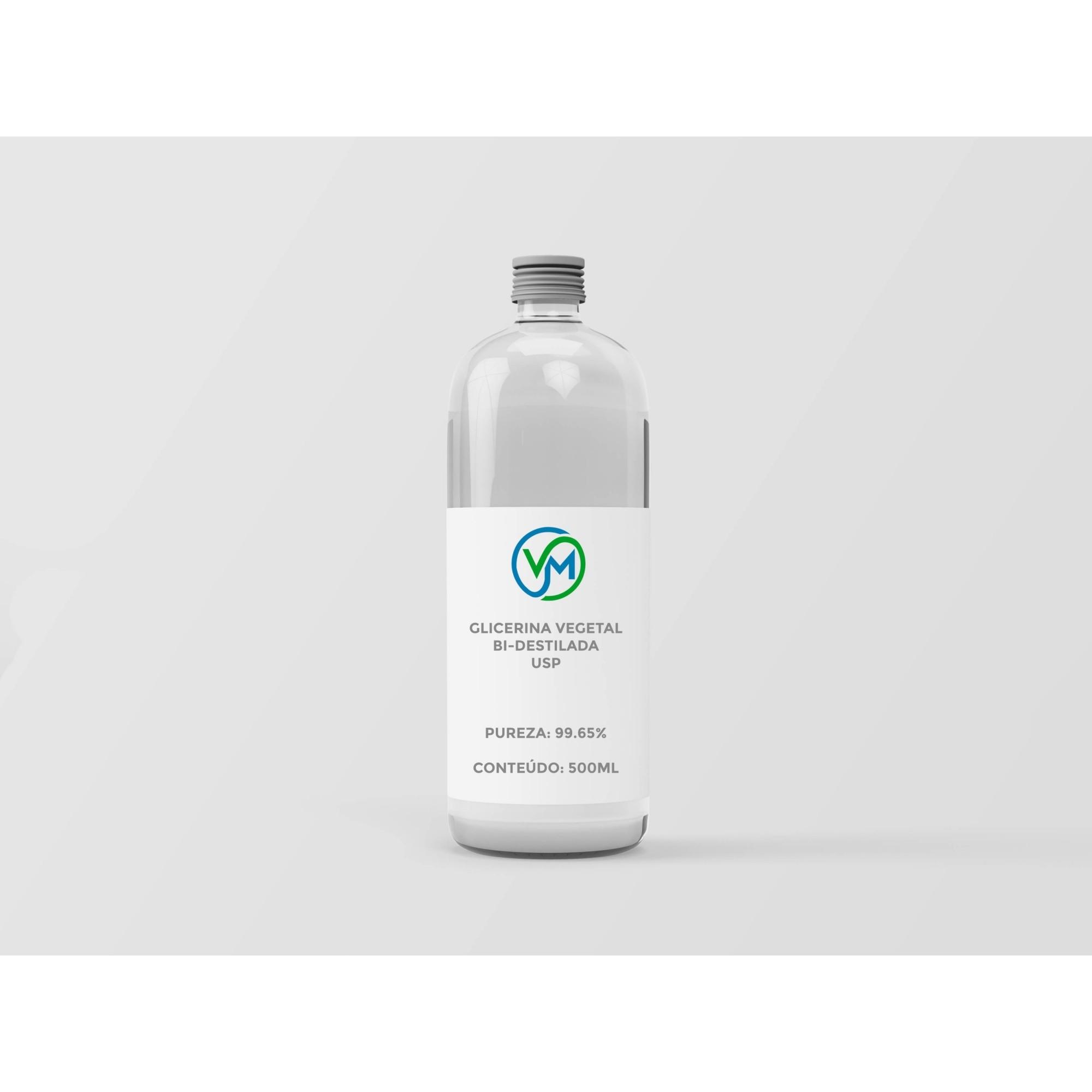 Glicerina Vegetal USP - 500ml