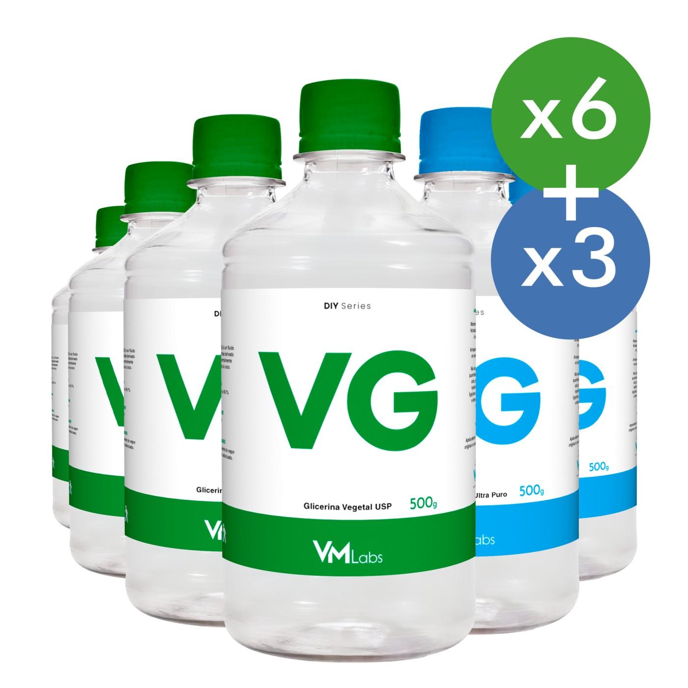 KIT PG + VG (4.5KG)