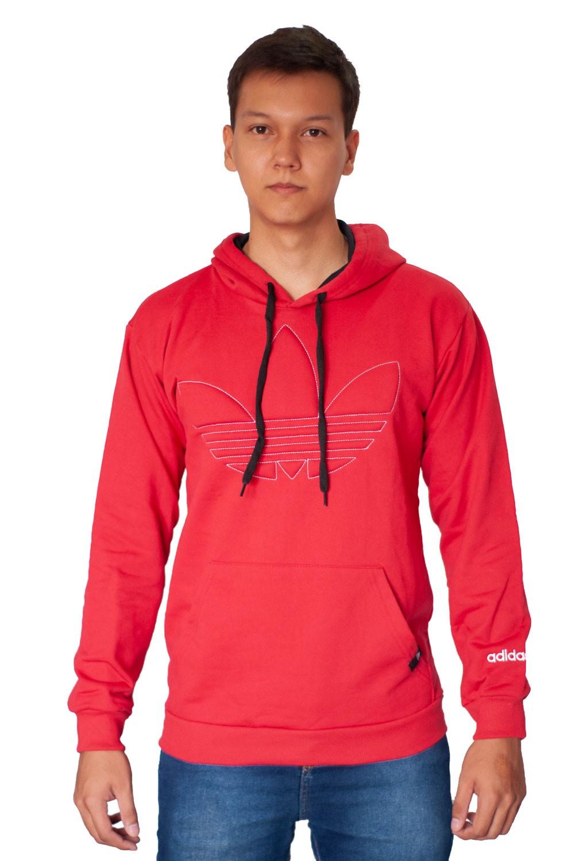 Blusa Moletom Adidas Vermelha