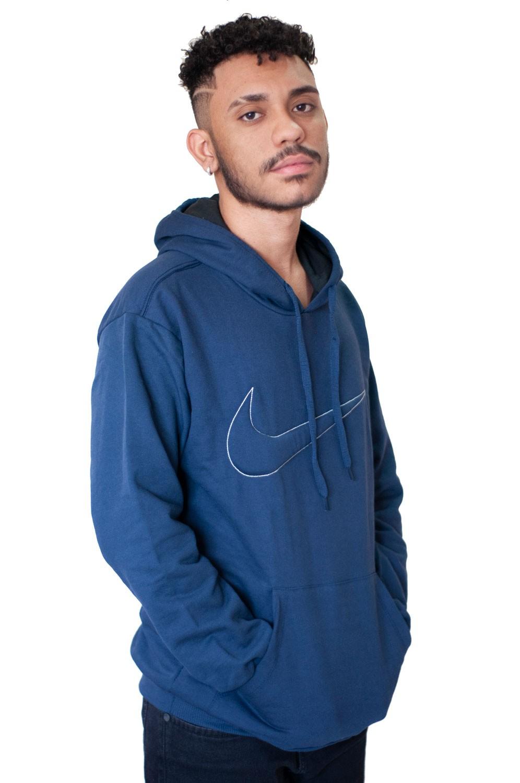 Blusa Moletom Nike Azul Escuro
