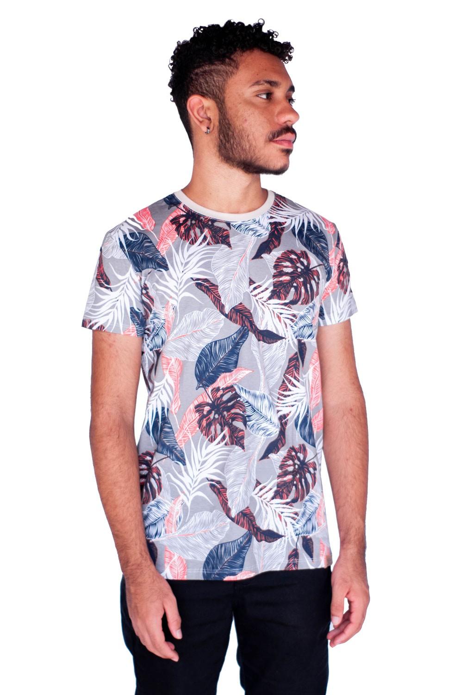 Camiseta Florida Cinza