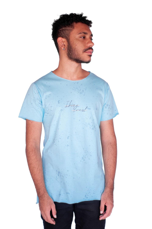 Camiseta Long Style Ibiza Azul