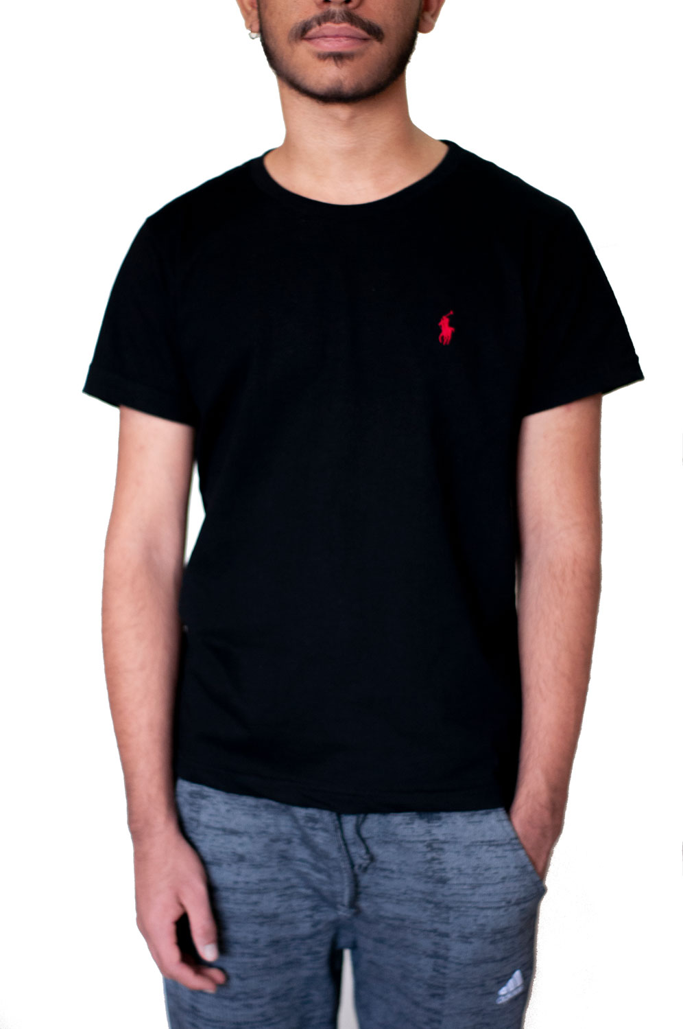 Camiseta Ralph Lauren Básica Preta