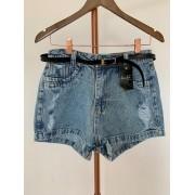 Shorts Jeans Sem Lycra