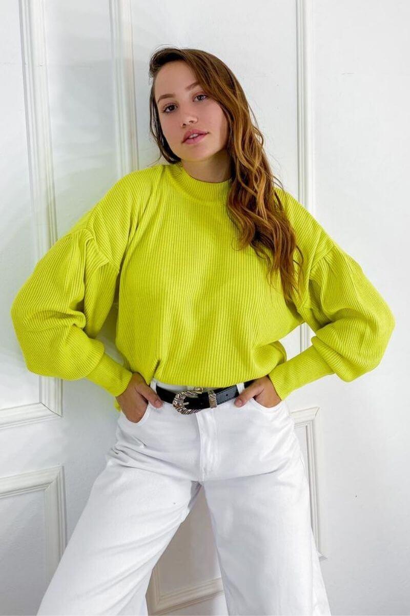 Blusa Tricot Lima