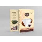 Papel Filtro Ruiz Coffees 103 - 30 Unidades de Filtros