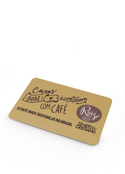 """Tapete Ruiz Coffees - """"Coisas boas acontecem com café"""""""