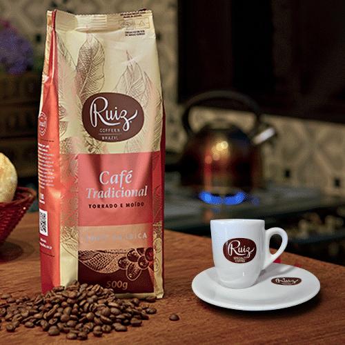 Xícara Ruiz Coffees 65ml - 2 unidades