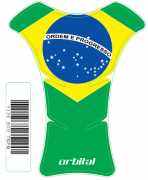 Tank Pad Medio Bandeira Brasil - Orbital