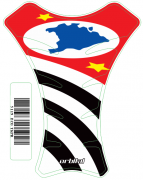 Tank Pad  Race Bandeira São Paulo - Orbital