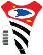Tank Pad Sport Bandeira São Paulo- Orbital