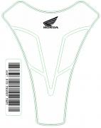 Tank Pad Sport Transparente Logo Honda - Orbital